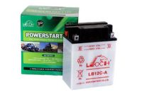 Leoch YB12C-A - Dry Charged Motorcycle Battery + Acid Pack